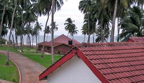 ghana beach resorts