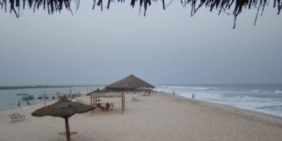 The Long Bojo Beach island
