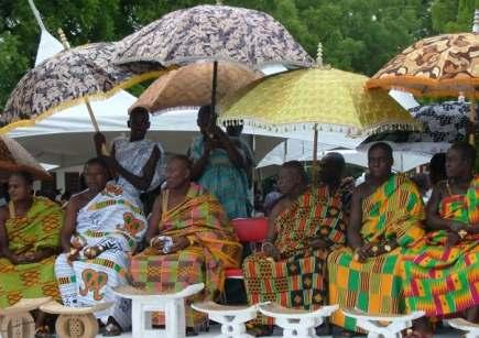 Cheives in Ghana