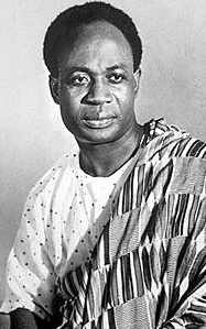 Kwame Nkrumah was born at Nkroful in the Nzema area and educated in Catholic schools at Half Assin and Achimota. - kwame-nkrumah-potriat