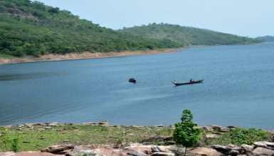 Volta lake at Akosombo