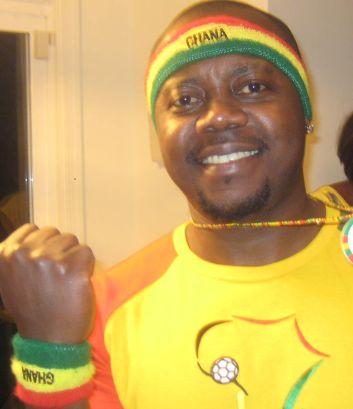 ghana colors/jersey