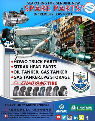 Howo and Spare Parts